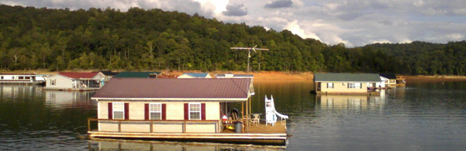 norris lake floating home rentals